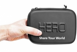 hero waterproof eva small size case for gopro and xiaomi yi black 58  large