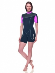 large Seac 3mm Sense Womens Shorty Wetsuit Big 2