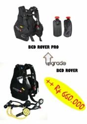 large UPGRADE BCD ROVER PRO