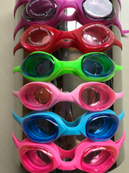 large A lovely body of all silicone goggles