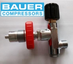 large Bauer kompresor 071743 pneumatik katup tanpa khusus katup tekanan pengukur tekanan 0 400bar 071744