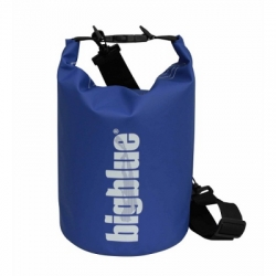 large 5L outdoor dry bag in blue color 1500px