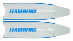 large leaderfins fiberglass.ice blue