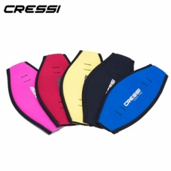 large Cressi Diving Mask Strap Cover Neoprene Strap Wrapper Padded Protect Long Hair Band for Diving Snorkeling