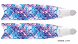 large leaderfins limited edition 2021 19 mermaid galaxy transparent